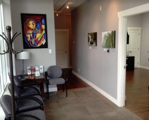 Fraser Valley Notary Seating Area